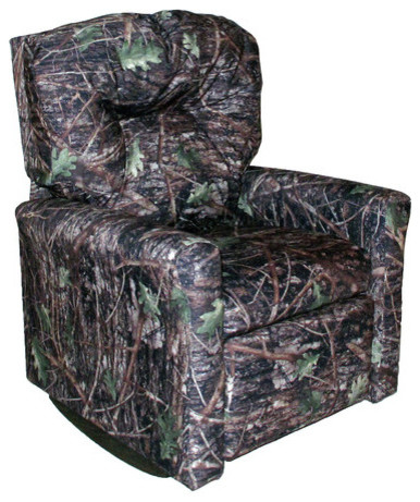 Contemporary Quot Conceal Quot Camouflage Child Rocker Recliner