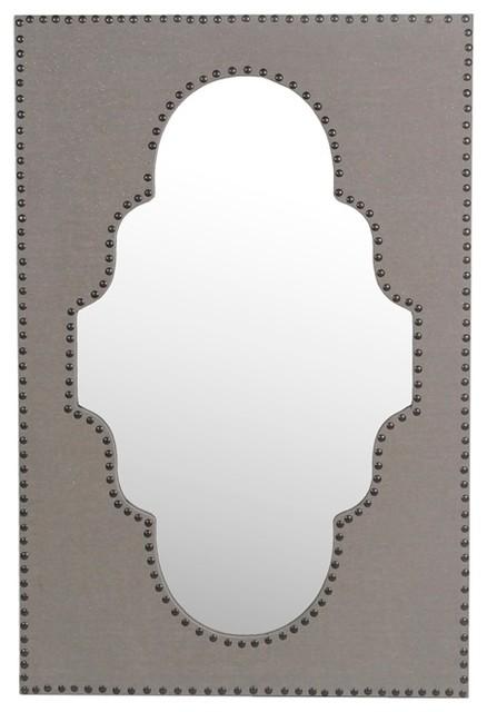 Sophia Linen Wall Mirror.