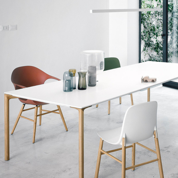 Boiacca Wood Table From Kristalia Contemporary Dining Tables Perth By Innerspace