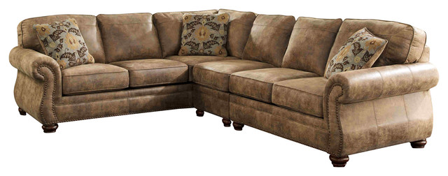 3pc Sectional Sofa Delta City Steel 3 Piece Sectional W