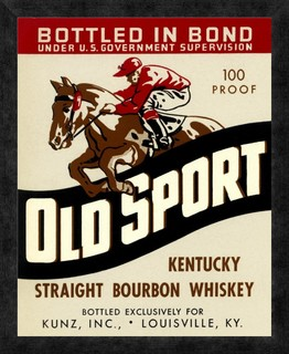 Old Sport Kentucky Straight Bourbon Whiskey - Traditional - Prints And Posters - by Global Gallery