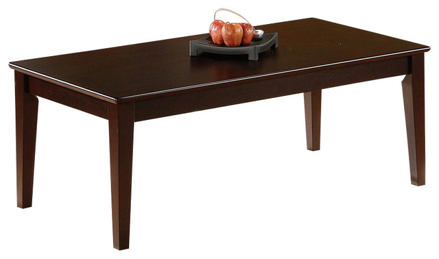 Coaster Coaster 3 Piece Occasional Table Set With Tapered Legs View In Your Room Houzz