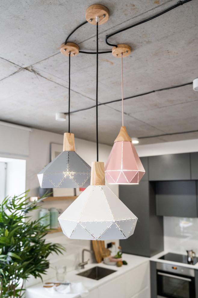 Пример оригинального дизайна: идея дизайна в скандинавском стиле