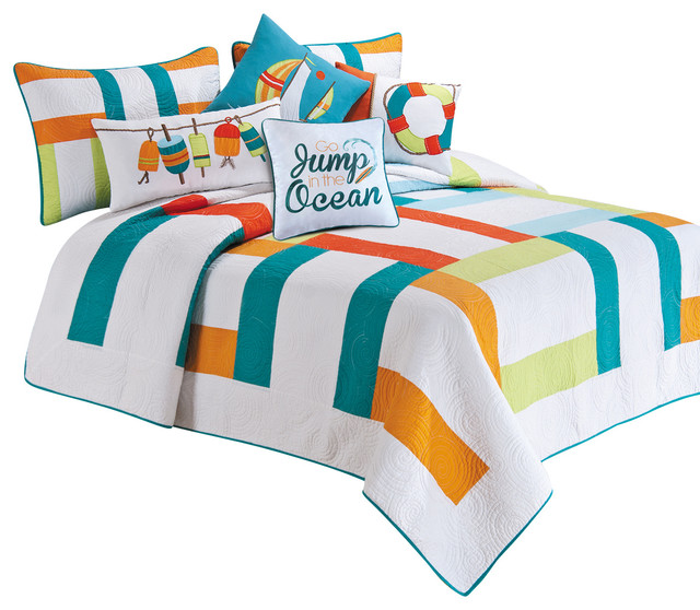 Zuma Bay Quilt Twin beach style quilts and quilt sets Lighthouse Bathroom  Rugs Bathroom Rugs. Lighthouse Rugs Bathroom