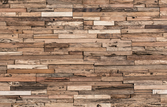 Reclaimed Wood Tile, 11 sq. ft. rustic-wall-panels