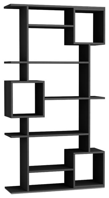 Barrett Modern Bookcase, Anthracite.