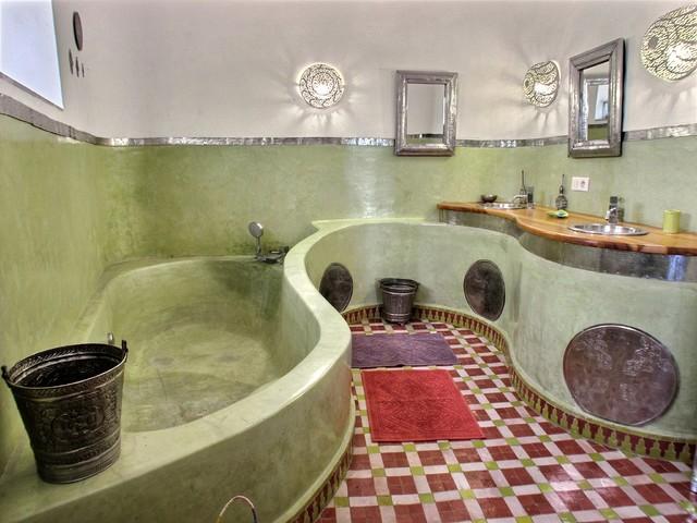 Maison d 39 h tes au maroc am nagement et decoration for Decoration maison au maroc