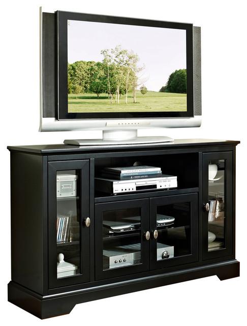 "Walker Edison 52"" Wood Highboy Tv Stand X-Lb23c25w X-Lb23c25w."