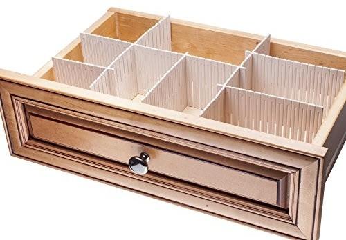 Interlocking Drawer Organizers, Set Of 3 Contemporary Kitchen Drawer  Organizers