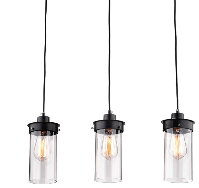 Eden 3-Light Kitchen Island Pendant.