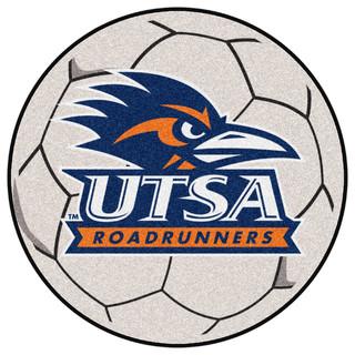 FANMATS Indoor Texas San Antonio Soccer Ball - Novelty Rugs   Houzz