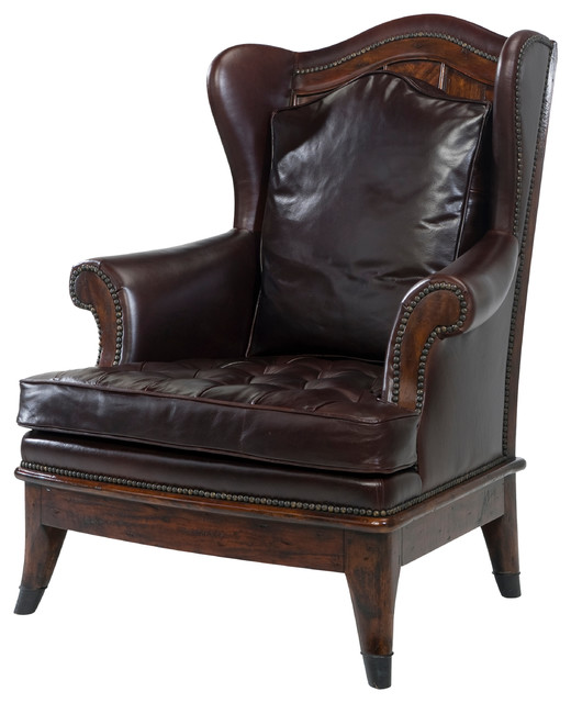 The Castle Fireside Chair by Theodore Alexander
