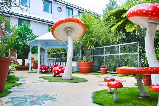 Sydney Childrens Hospital Fairy Garden Balcony Garden