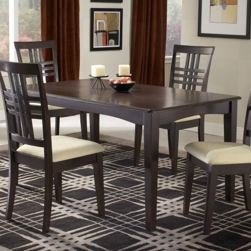 36 x 60 dining table rectangle simple hillsdale tiburon 36 60 fix top dining table espresso