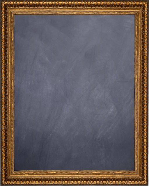 framed chalkboard 20 x 24 with copper finish frame traditional bulletin