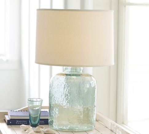 Table  Lamps on Devin Glass Table Lamp Base   Contemporary   Table Lamps     By