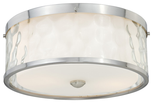 "Vilo 2-Light 12"" Flush Mount."