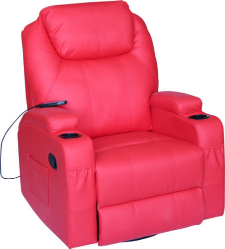Exacme Modern Electric Recliner Leather Lounge Chair