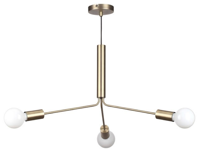 Grand Metro 3-Light Chandelier