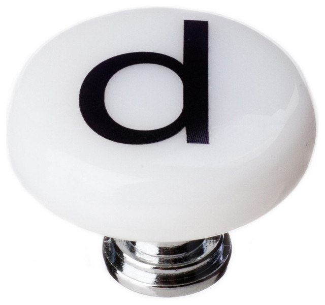 Shop Houzz | Sietto New Vintage Round Letter D - Cabinet And Drawer Knobs