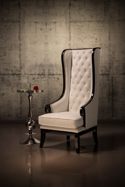 Kingdom High Back Chair - Traditional - Living Room - Miami - By