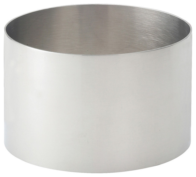 "Hic Stainless Steel Food Ring Mold, 3.5""."