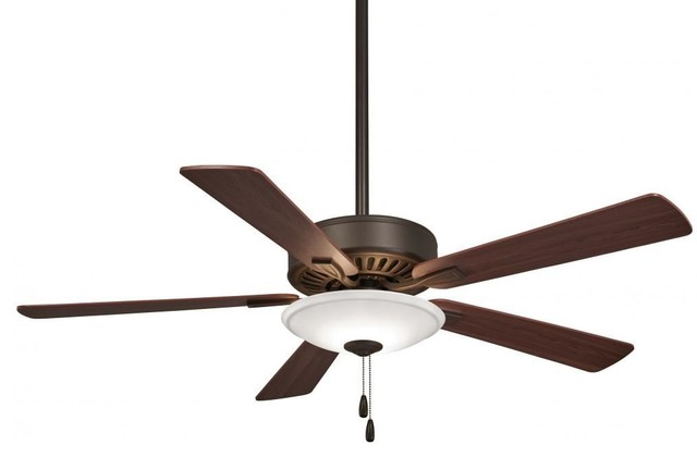 Minka-Aire Contractor Ceiling Fan, Oil Rubbed Bronze.