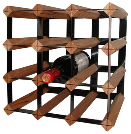 12 Bottle Cellar Trellis Wine Rack Rack-12ct-2.