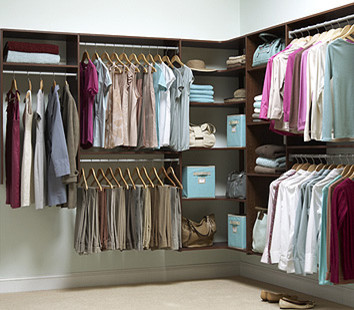Martha Stewart Closets Contemporary