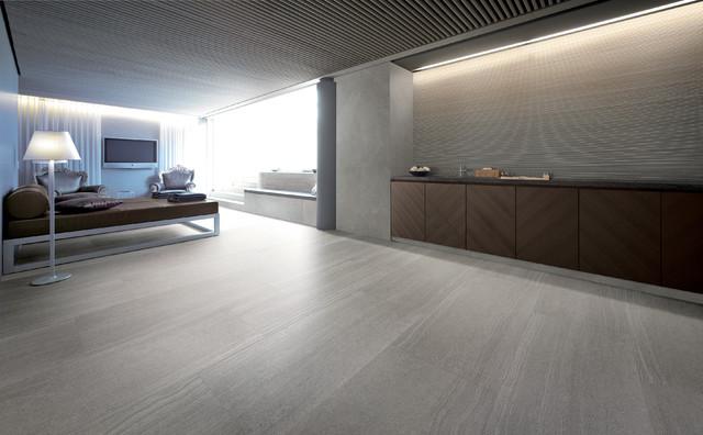 stone look tile modern basement dallas by horizon italian tile. Black Bedroom Furniture Sets. Home Design Ideas