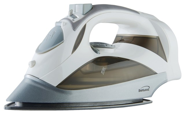 Brentwood Mpi-59w Steam Iron With Retractable Cord, White.
