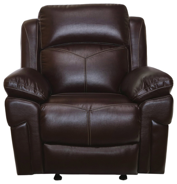 Astonishing New Classic Furniture Warner Full Power Glider Recliner In Wine 22 2226 13Ph Win Alphanode Cool Chair Designs And Ideas Alphanodeonline