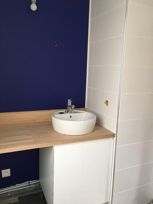 Besoin d 39 aide miroirs et applique murale pour salle de for Applique murale salle de bain design
