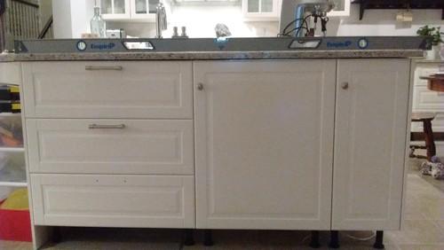 Ikea quartz countertop installation