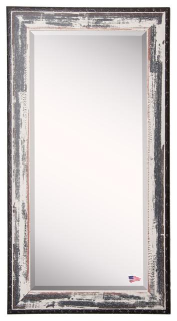 "American Made Rayne Rustic Seaside Extra Tall Floor Mirror, 30.5""x0.75""x71""."