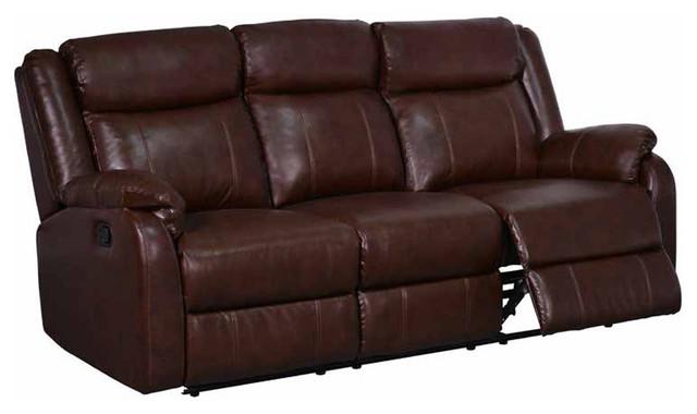 Shop Houzz Global Furniture Usa Global Reclining Sofa