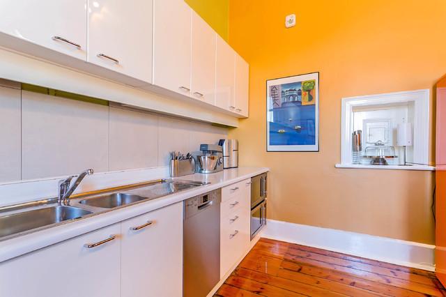 Church renovation eclectic kitchen adelaide by stewart kirby design for Church kitchen designs