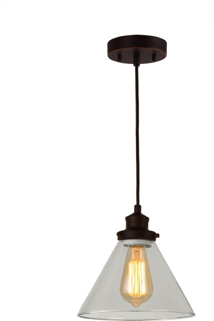 Taylor 1-Light Pendant, Metallic Bronze.