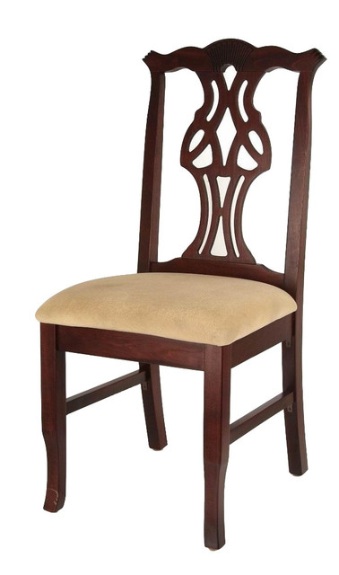 Beechwood Furniture Exterior chippendale chairs  traditional  dining chairs beechwood