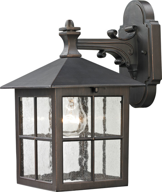 Shaker Heights Coach Lantern, Hazelnut Bronze.