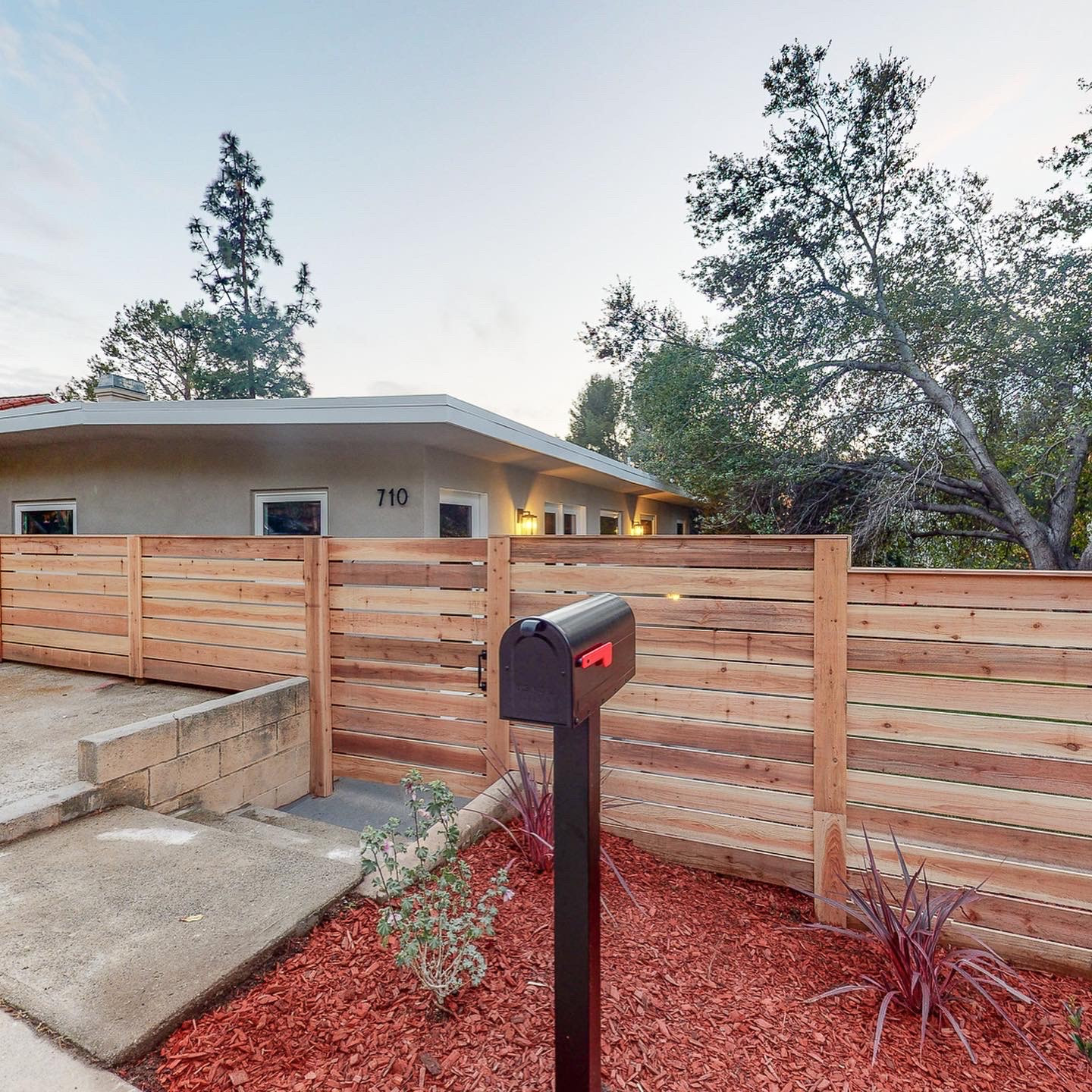 Full Interior Remodel and Exterior Wood Slat Privacy Fence