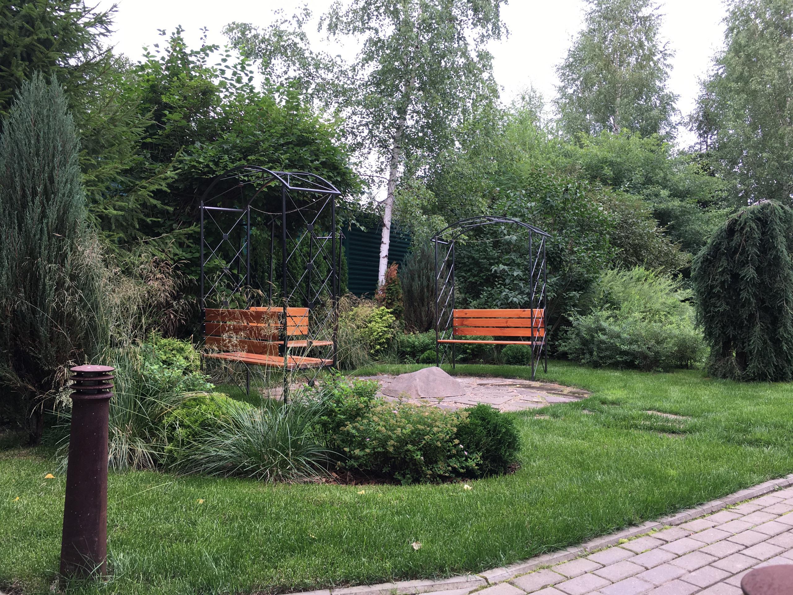 Сад на Новой Риге