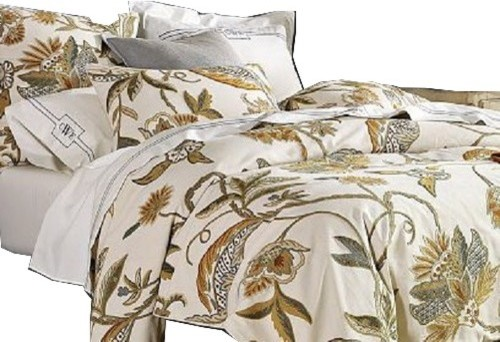 Crewel Duvet Cover Atherton Cotton Duck Duvet Covers And