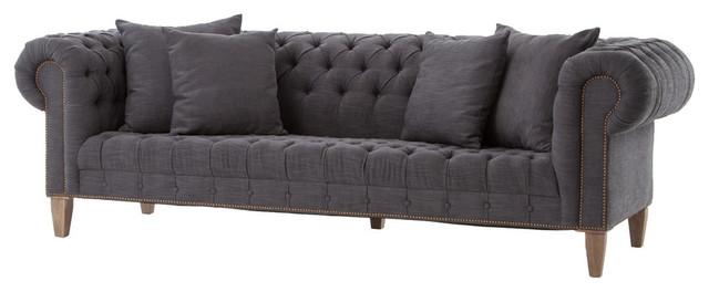 Deep Chesterfield Sofa