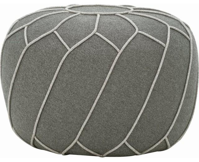 Saturn Ottoman/pouf, Gray.