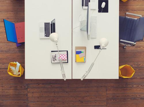 【Houzz】ホームオフィスを使いやすく整理する9の秘訣 15番目の画像
