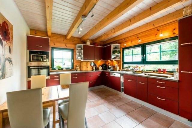 Wohnideen Holzhaus holzhaus lübschützer teiche küche