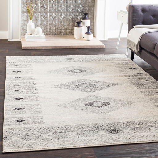 Jackpot Southwestern Gray Beige Area Rug Contemporary Area Rugs By Hauteloom Houzz