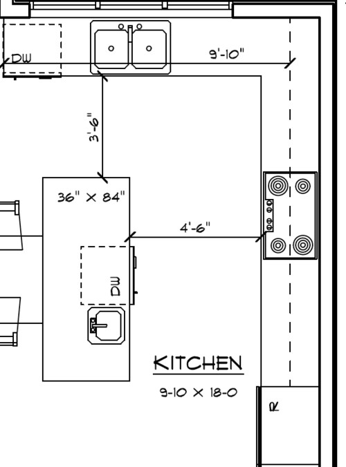 Kitchen Design Dishwasher Placement dishwasher placement dilemma