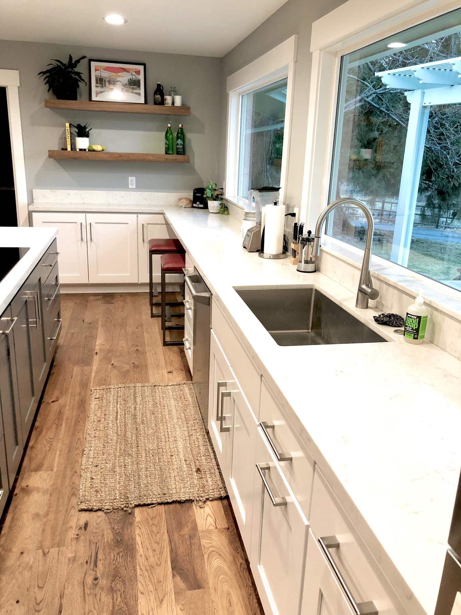 Transitional with a Hint of Rustic